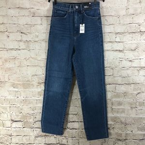 NWT Express Super High Rise Mom Jeans size 0R